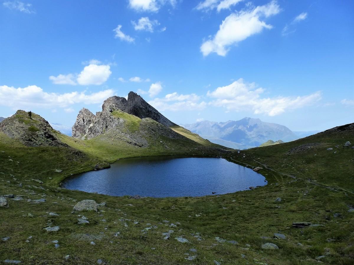 Pic de Thou (2.743 m) y Pic de Pichebrou (2.183 m). Pirineo francés.