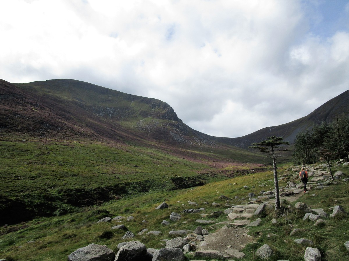 Slieve Donard (853 m). Mourne Mountains.