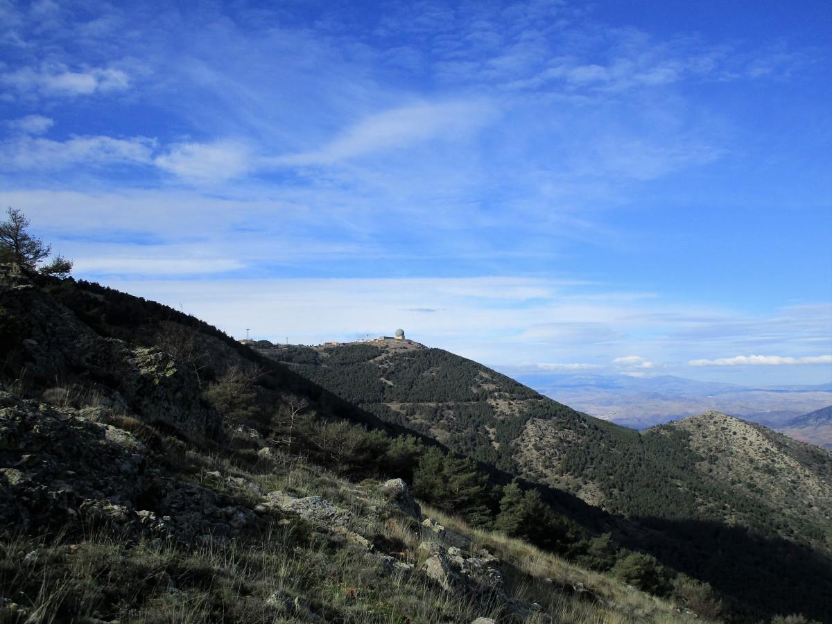 Pico del Rayo (1.427 m). Sierra de Vicor