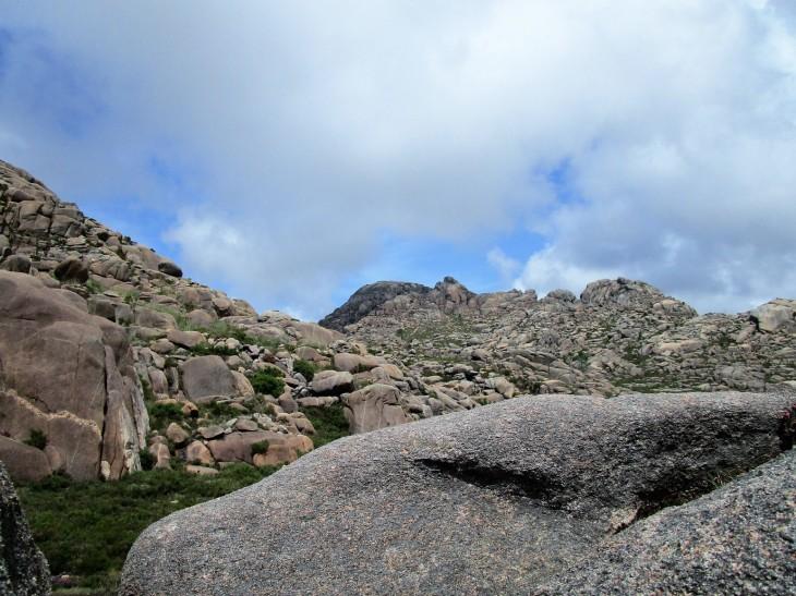 Tramo final de la ascensión al Monte Pindo