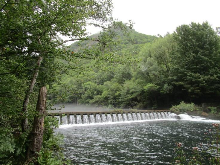 Río Eume, desde la senda Encomendeiros.