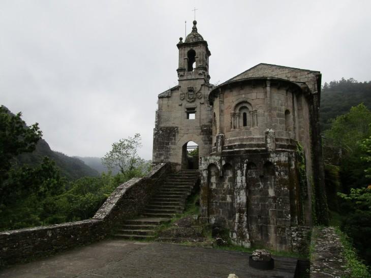 Monasterio de Caaveiro.